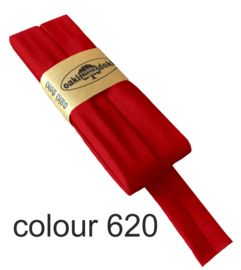 tricot biaisband | rood | col. 620