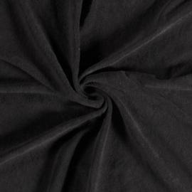 Badstof Stretch | Zwart