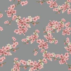 Gots Soft Sweat | Blossom | Grey