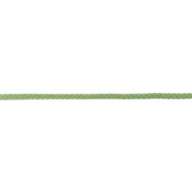 Katoenen Koord - 8 mm -  Groen