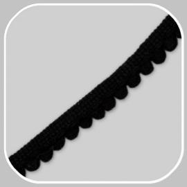 minibolletjesband zwart