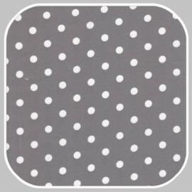 katoen Dot |  S | grijs