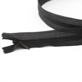 Blinde Rits | Zwart  -  22 of 60 cm