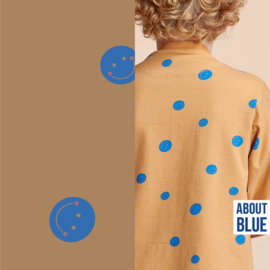 About Blue Fabrics |  French Terry | Life is a circus - Show me your smile