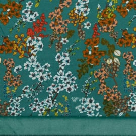 French Terry - Alpensweat | Blossom - Teal