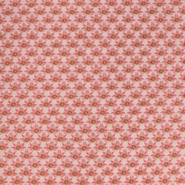 woven viscose | flowers - small - pink | Swafing