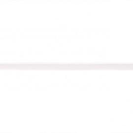 Paspelband elastisch | wit