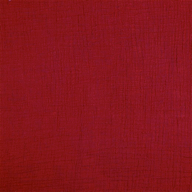 Double Gauze GOTS    Baby Cotton    Red 020
