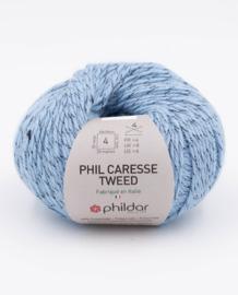 Phil Caresse Tweed - Denim