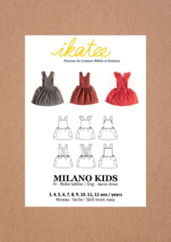 Ikatee Pattern | Milano Kids dress - Girl 3/12Y
