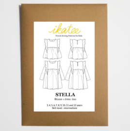 Ikatee Pattern | Stella | Blouse & Dress - Girl 3/12 yr