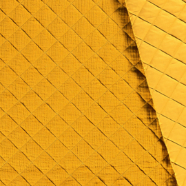 Double Gauze - Mousseline Quilted | Ochre 034