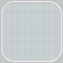 katoen | ruit -S | 03085.042 grijsgroen
