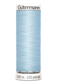 Gutermann garen 200 meter - Light Blue 276