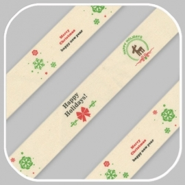 kerstband breedte 2cm  ☛ prijs per meter