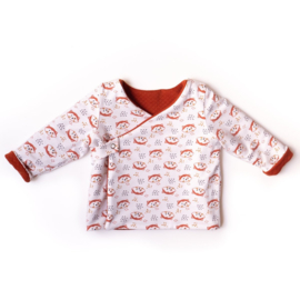 IKATEE | Dublin  Cardigan or Dress - Baby 1M/4Y - Paper Sewing Pattern