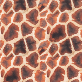 Decostof Velvet | Giraffe animal skin