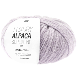Rico Design - Luxury Alpaca Superfine Aran - Lila 021