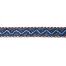 ibiza band grijs/ 3 cm breed