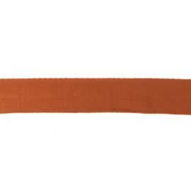 Tassenband Katoen | Terra  | 4cm breed