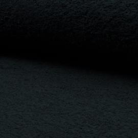 badstof katoen     col. 069   zwart