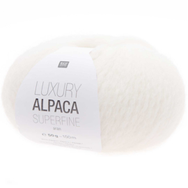 Rico Design - Luxury Alpaca Superfine Aran - Creme 001