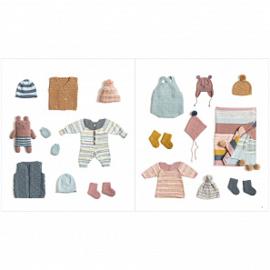 Rico Design | Baby Dream Uni - a luxury touch  | Poederroze 002