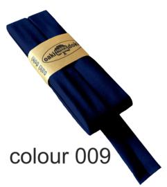 Tricot biaisband | Donkerblauw  | col. 009