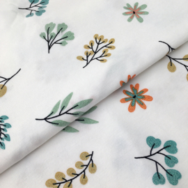 Tricot Print | Glitter - Leaves