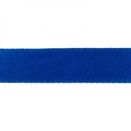Tassenband Katoen | Kobaltblauw | 4cm breed