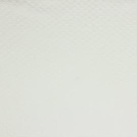 Tricot uni - Wafel - Quilt | Ecru  002