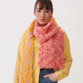 Fashion Alpaca Vibes Aran   Salmon - Yellow