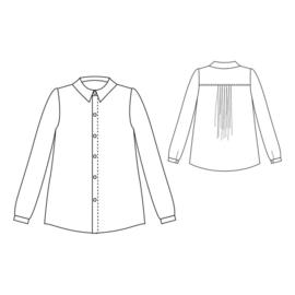 Republique du Chiffon   Hedwige Shirt   Engelstalig