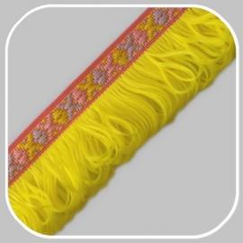 indianen band geel/ 40mm
