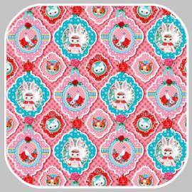 Fiona Hewitt tricot | bunny ears  | 02057.002  roze
