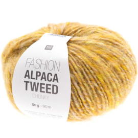 Rico Design | Fashion Alpaca Tweed Chunky - Yellow 008
