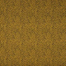 Katoen Print | Leopard - Ochre