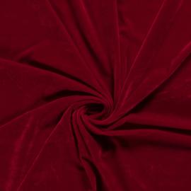 Velvet Stretch  | Dark Red 016