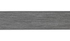 Elastiek uni | 4 cm | Light Grey Melange