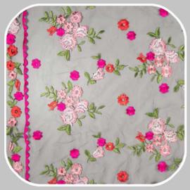 Mesh Espagnol | WI9771-001 roze