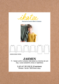 Ikatee Pattern | JASMIN sweatshirt/dress -kids 3/12