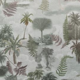Velvet de Luxe | Palmboom - Groen