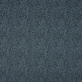Tricot Print | Leopard - Dusty Blue