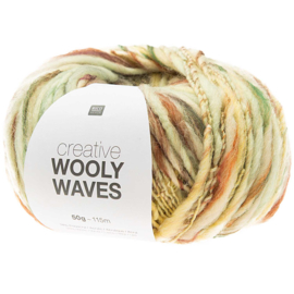 Rico Design | Creative Wooly Waves - Light Yellow 004