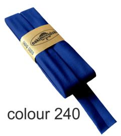 Tricot biaisband | Koningsblauw  | col. 240