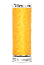 Gutermann 200 meter - Licht Zonnebloemgeel 417