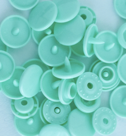 Kamsnaps - 12.4 mm - 25 stuks - Mint