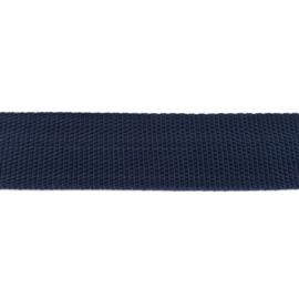 Tassenband Polypropylene | Donkerblauw  |  40mm
