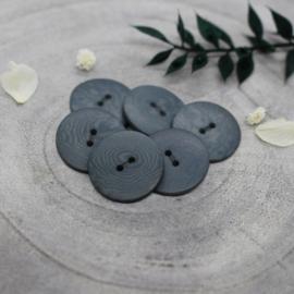 Atelier Brunette  Buttons | Corozo | Palm - Smokey - 20 mm