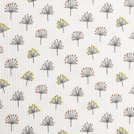 Wafelkatoen Print | Dandelion